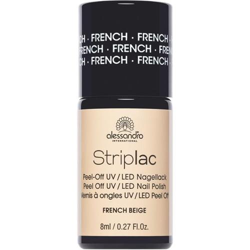 Alessandro Striplac French beige 8 ml Nagellack