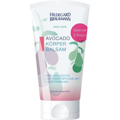Hildegard Braukmann Body Care Avocado Körper Balsam 150 ml Körperbalsam