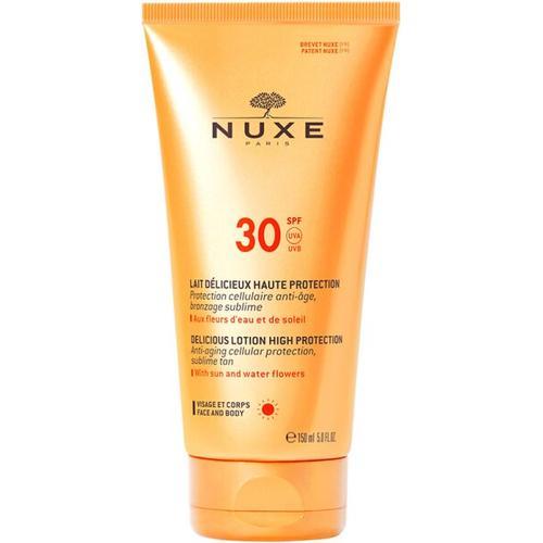 Nuxe Sun Lotion Délicieux Visage & Corps (LSF-30) 150 ml Sonnencreme