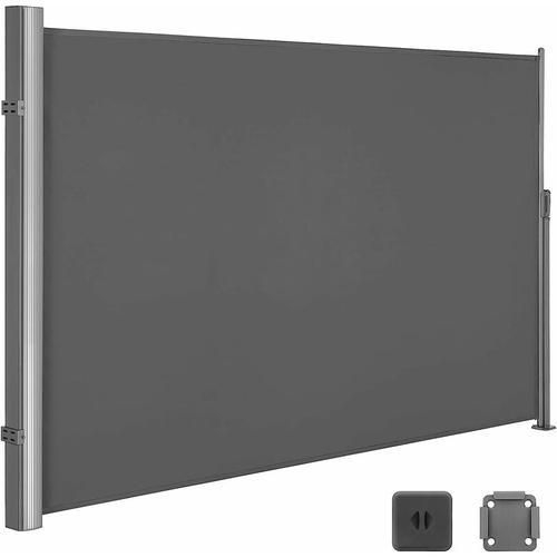 180 x 350 cm (H x L), Seitenmarkise für Balkon und Terrasse, Sichtschutz, Sonnenschutz,