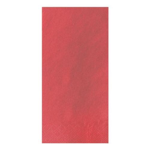 3-lagige Servietten einfarbig 1/8 Falz rot, Papstar, 40x40 cm