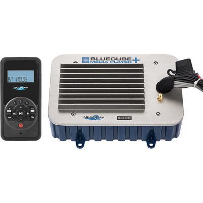 Aquatic AV AQ-BC-6UBT-G Bluecube Hideaway Stereo, Remote