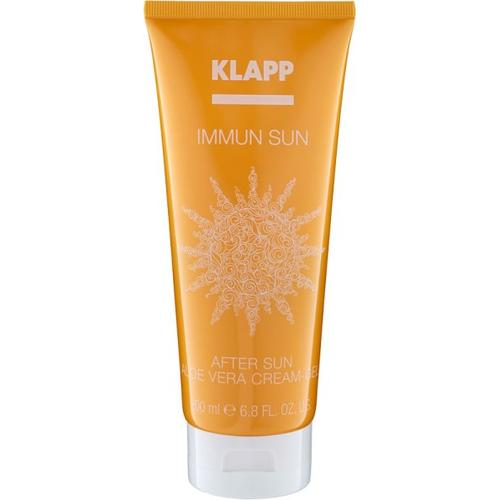 Klapp Immun Sun After Sun Aloe Vera Cream-Gel 200 ml After Sun Creme