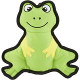 Smart Pet Love Tender Tuff Simple Green Frog Squeaky Plush Dog Toy