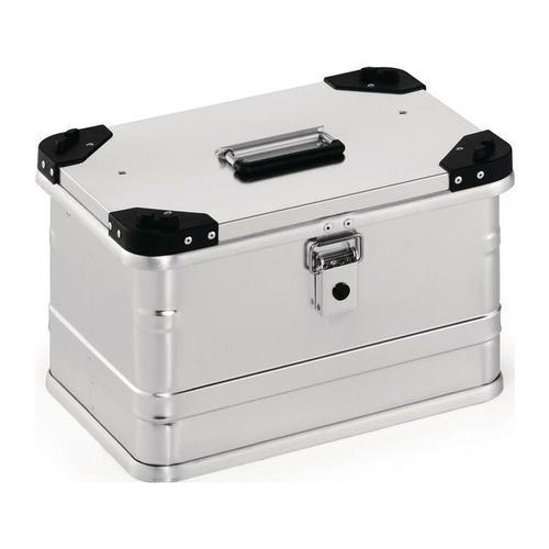 No-Name-Produkt Aluminiumbox L432xB335xH277mm 29 l mit Klappverschluss und Stapelecken