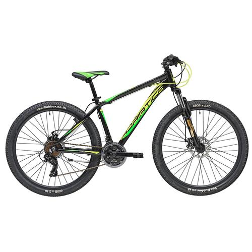 Adriatica Mountainbike RC-K, 21 Gang, Shimano, TY500 Schaltwerk, Kettenschaltung schwarz Hardtail Mountainbikes Fahrräder Zubehör