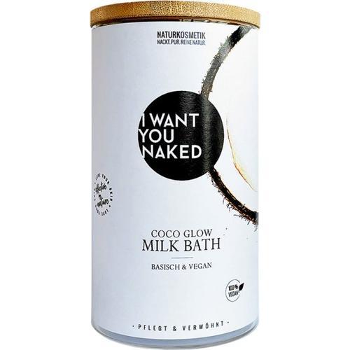 I Want You Naked Kokos-Milchbad - Kokosnuss & Vitamin E 400 g Bademilch