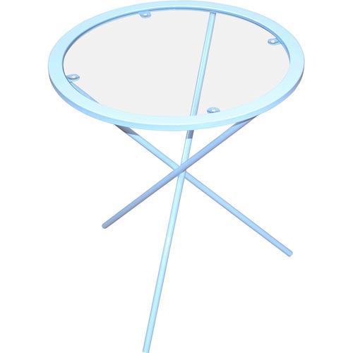 Home affaire Beistelltisch, Maße (H/Ø): (51/45) weiß Beistelltisch Beistelltische Tische
