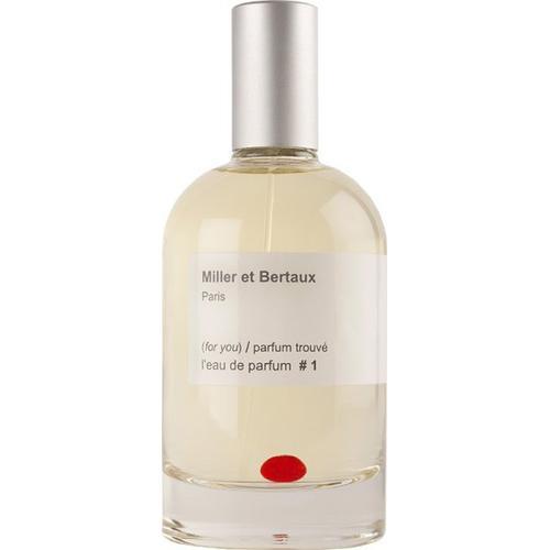 Miller et Bertaux # 1 (for you) / parfum trouvé Eau de Parfum (EdP) 100 ml