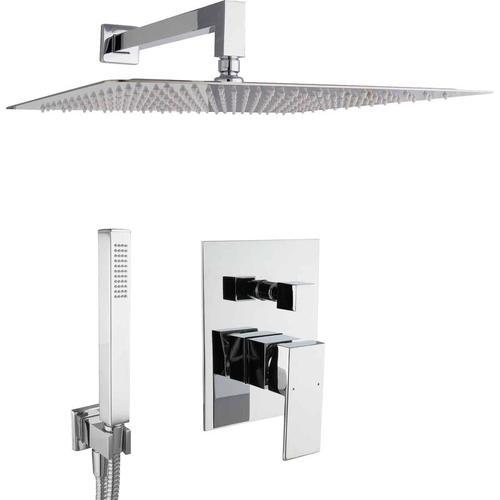 Dusch Komplett Set Unterputz Duschsystem 40cm