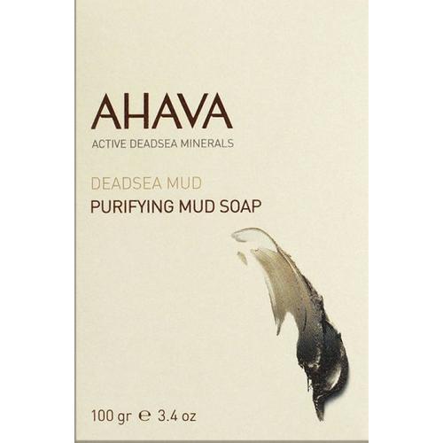 Ahava Deadsea Mud Purifying Mud Soap 100 g Stückseife