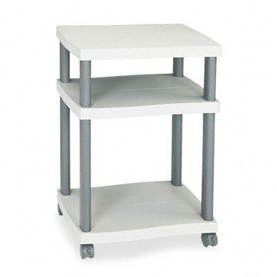 Safco Wave Deskside Printer Stand - Gray