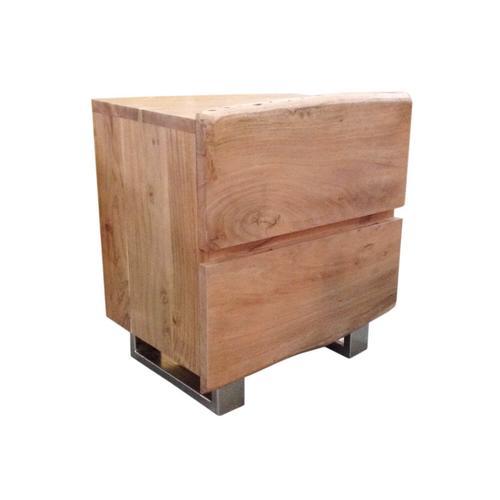 SIT Albero Baumkante Nachttisch B 50 x H 63 x T 37 cm
