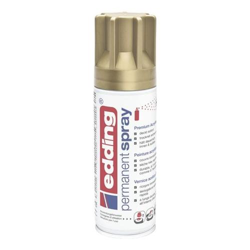 Permanent Spray Premium Acryl-Farblack »5200« gold, Edding