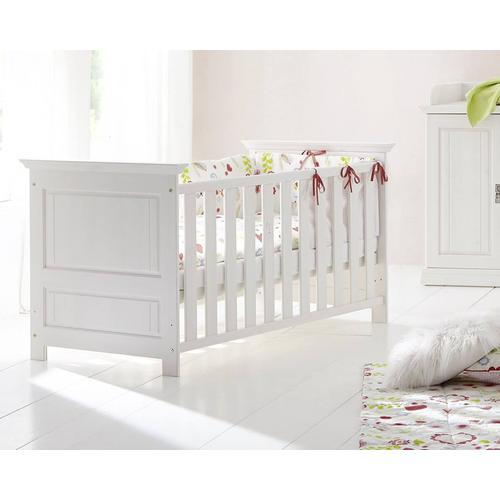 3S Frankenmöbel Massivholz Babybett Odette 70x140 cm