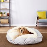 Snoozer Pet Products Microsuede Cozy Cave Dog & Cat Bed, Palmer Dove, X-Large