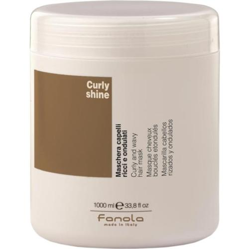Fanola Curly Shine Locken-Maske 1000 ml Haarmaske