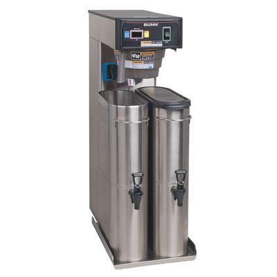 Bunn TB6 6 Gallon Automatic Twin Iced Tea Brewer, Rotating Brew Baskets, 120 V