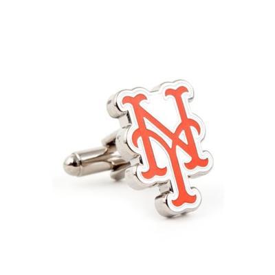 Cufflinks Inc Gray Silver New York Mets Cufflinks