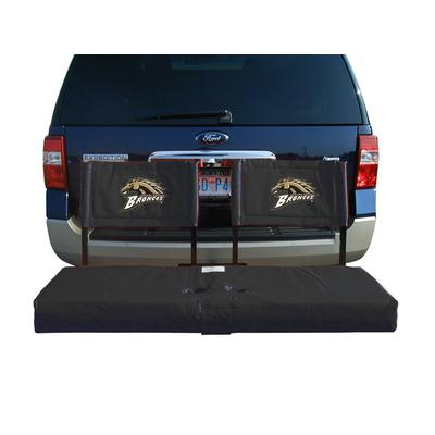 Western Michigan Broncos Tailgate Hitch Seat/Cargo Carrier