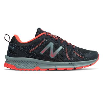 New Balance Women's 590v4 Trail Shoes Navy with Orange - WT590LP4 - 9.5 - D
