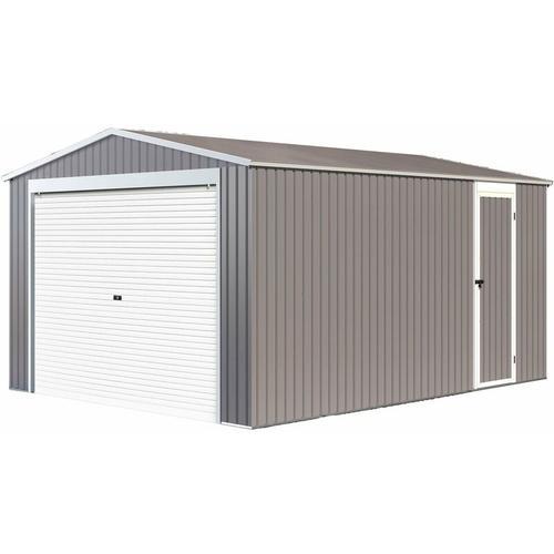 Garage Metall Nevada mit Rolltor - 15,61m²
