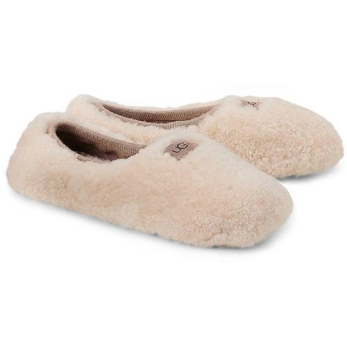 UGG, Hausschuh Ballerina in beige, Hausschuhe für Damen Gr. 37