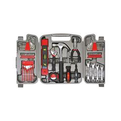 """Apollo Tools Tool Sets """"Red Gray Black"""" - 53-Piece Household Tool Set"""