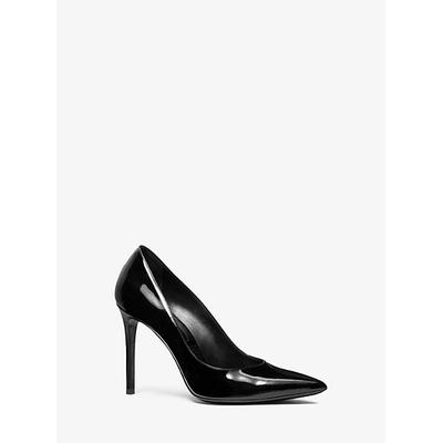 Michael Kors Gretel Patent Calf Leather Pump Black 39.5