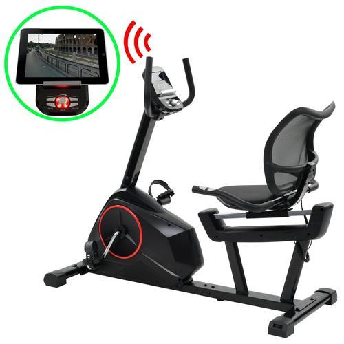 vidaXL Magnetisches Sitz-Ergometer mit Pulsmessung Programmierbar