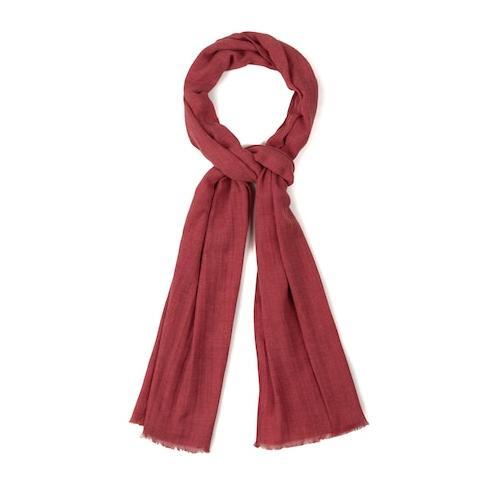Große Größen Schal - Große Größen Damen (Größe One Size, tiefes rot) | Ulla Popken Schals & Tücher | Baumwolle/Polyester, Schal