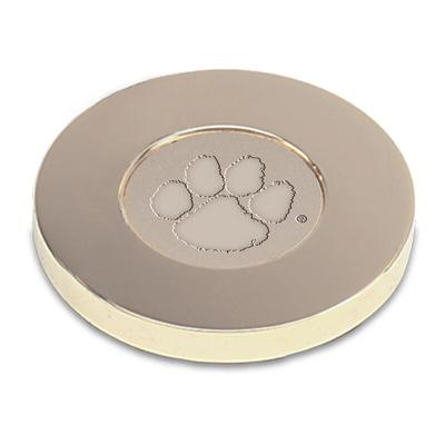 Clemson Tigers Paperweight - Gold