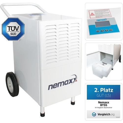 Nemaxx BT55 Bautrockner Kondenstrockner Luftentfeuchter Raumentfeuchter Entfeuchter Trockner (max.