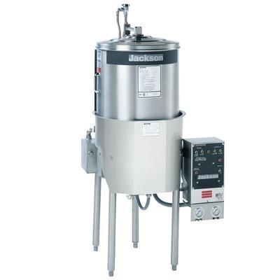 Jackson 10AB High Temp Round Dishwasher w/ Built-In Booster, 208v/1ph