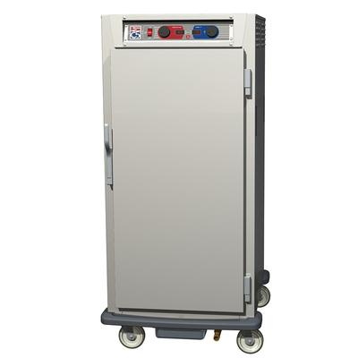 Metro C597-SFS-L 3/4 Height Insulated Mobile Heated Cabinet w/ (27) Pan Capacity, 120v