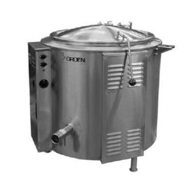 Groen EE-80 80 gal Steam Kettle – Stationary, 2/3 Jacket, 208v/3ph