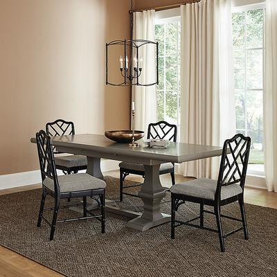 Chianni Trestle Extension Dining Table - Ballard Designs