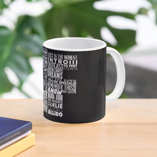 NF - Word Collaboration Design Mug