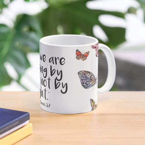 2 Corinthians 5:7 Mug