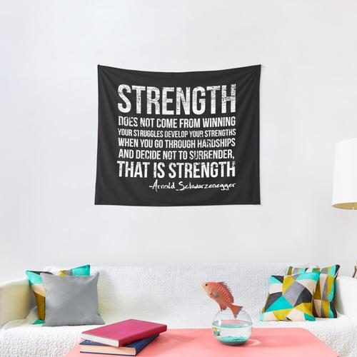 Strength Wall Tapestry