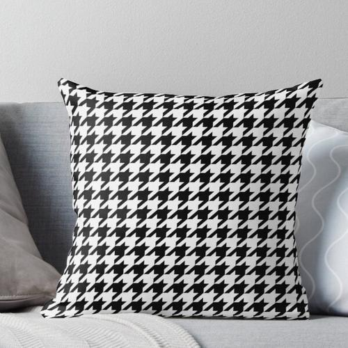 Dogtooth / Houndstooth Throw Pillow
