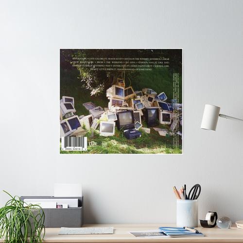 SZA Computer Monitors Poster
