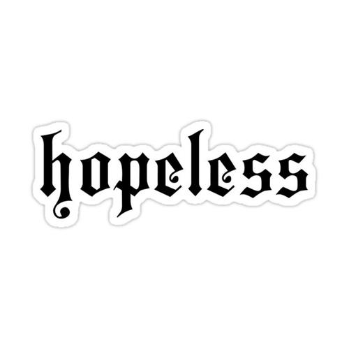 Halsey- Hopeless Sticker