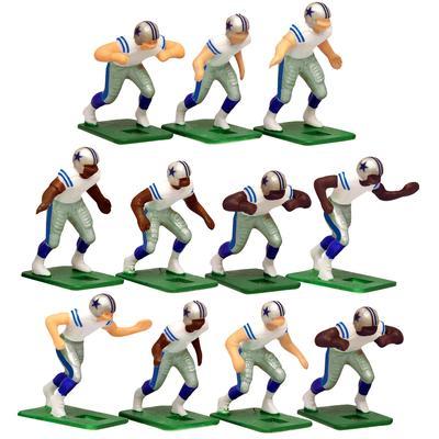 Dallas Cowboys White Uniform Action Figures Set
