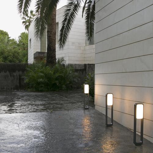 LED Wegeleuchte Sticker, grau, weiß. IP55