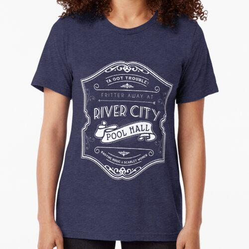 River City Pool Hall - The Music Man Tri-blend T-Shirt