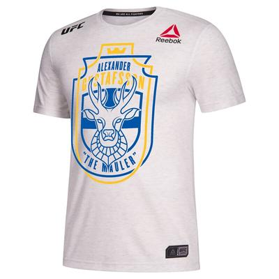 """Reebok Alexander Gustafsson White UFC 232 Legacy Series Jersey"""