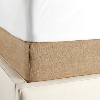 Tailored Boxspring Cover Twill Off White Full - Ballard Designs