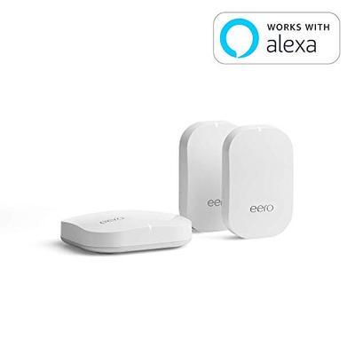 eero Home WiFi System (1 eero + 2 eero Beacon) - Advanced Tri-Band Mesh WiFi System to Replace Tradi