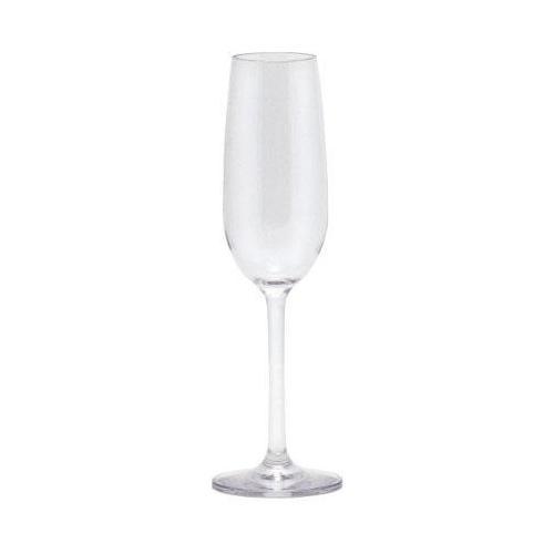 Q Squared NYC Sektglas, (Set, 3 tlg., 3), 100% Polycarbonat farblos Sektgläser Champagnergläser Gläser Glaswaren Haushaltswaren Sektglas